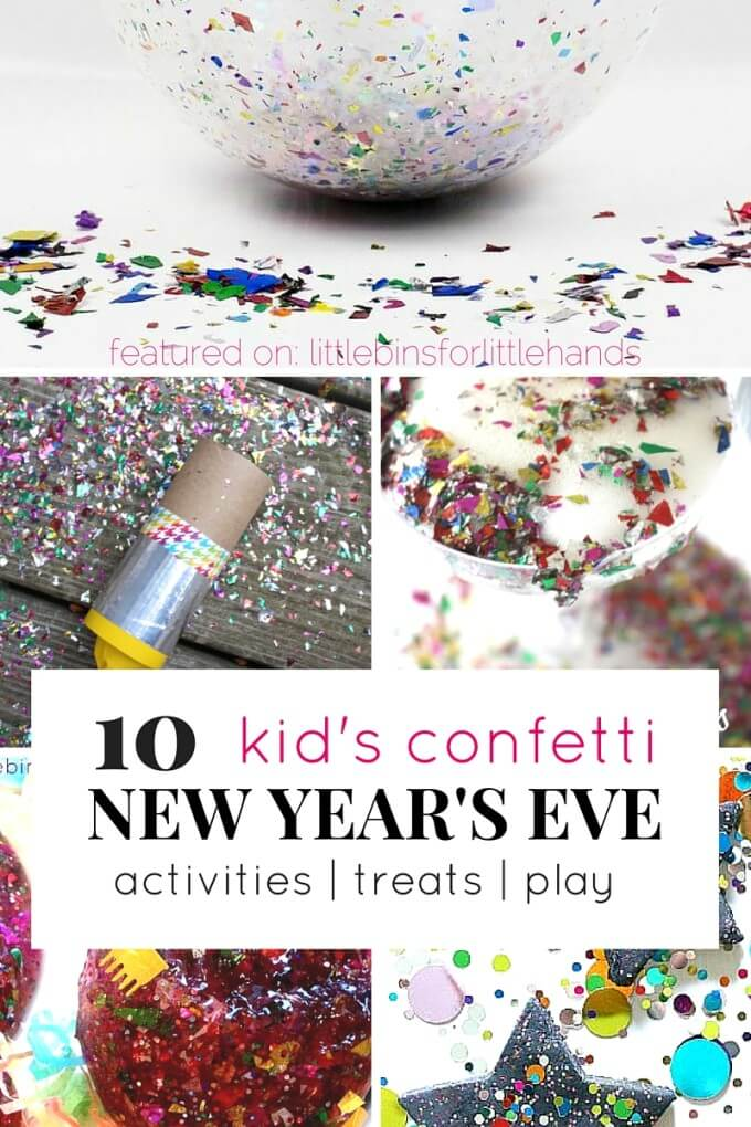 Confetti Party Ideas for Play New Year's Eve and New Year's Day-3