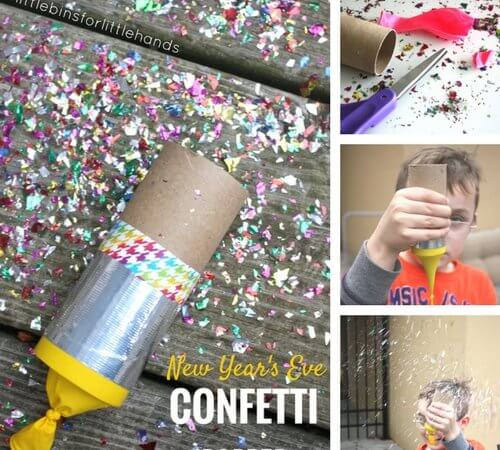 Confetti Poppers New Years Eve Party Activities