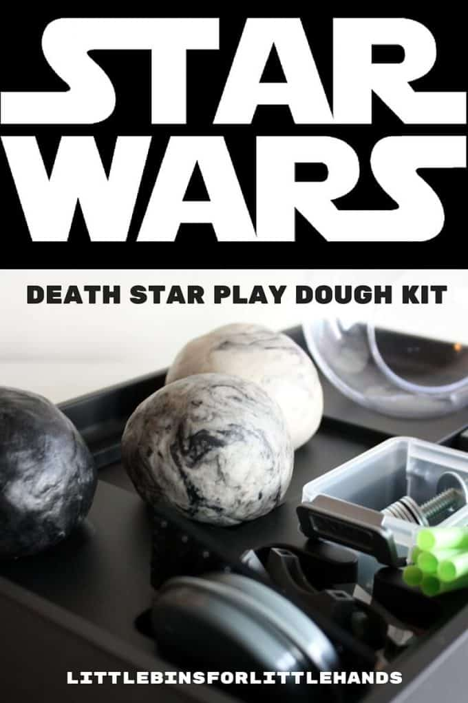 Star Wars Play Dough Kit for Kids Build A Death Star