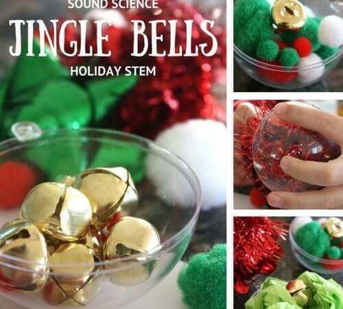 Jingle Bell STEM Challenge: Can you quiet a jingle bell?