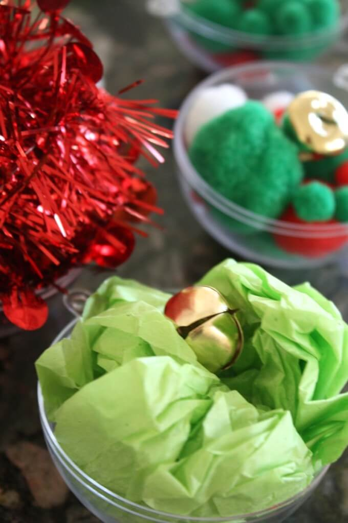 Jingle Bells STEM with Tissue Paper