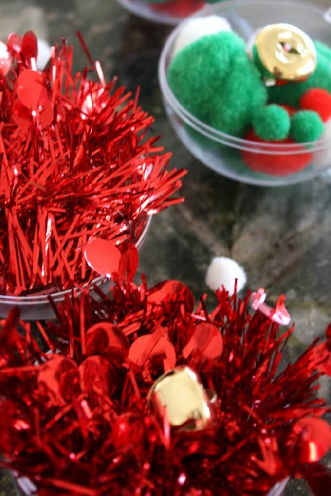Jingle Bells STEM With Tinsel