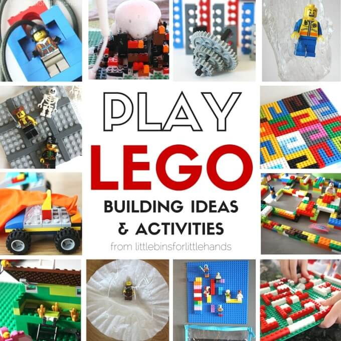 LEGO Activities and STEM Challenges for Kids