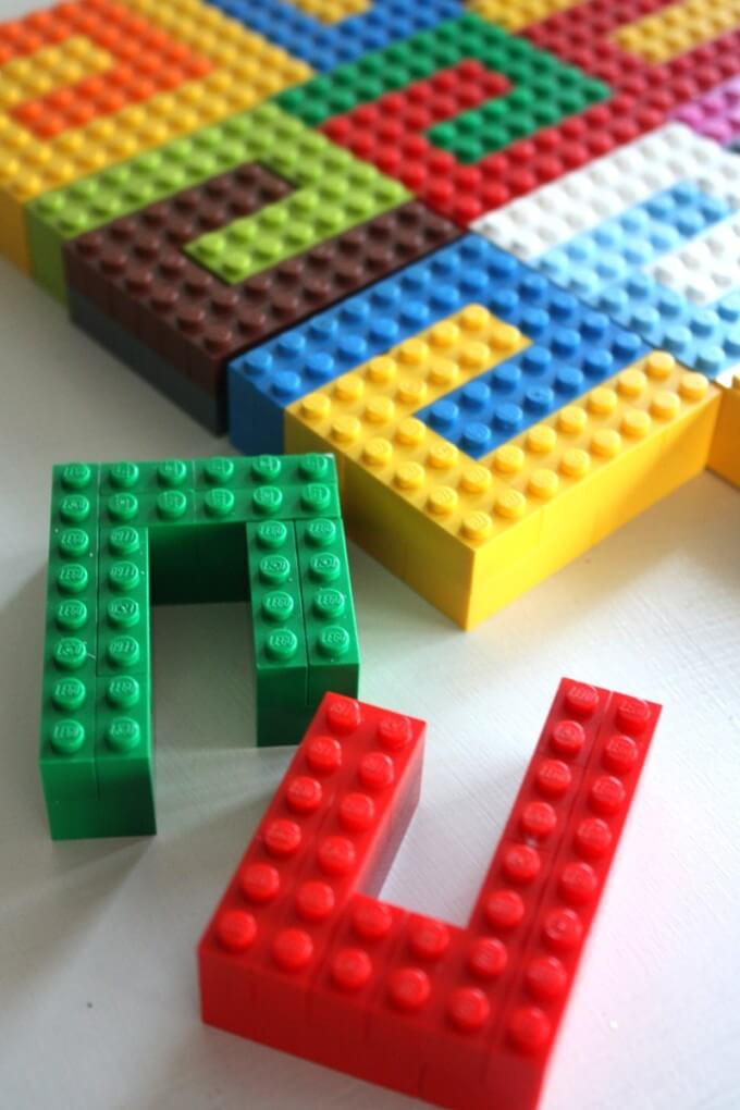 LEGO Tesselation Basic Bricks Activity Kids STEAM
