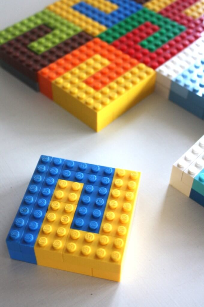 LEGO Tesselation Math Art Engineering