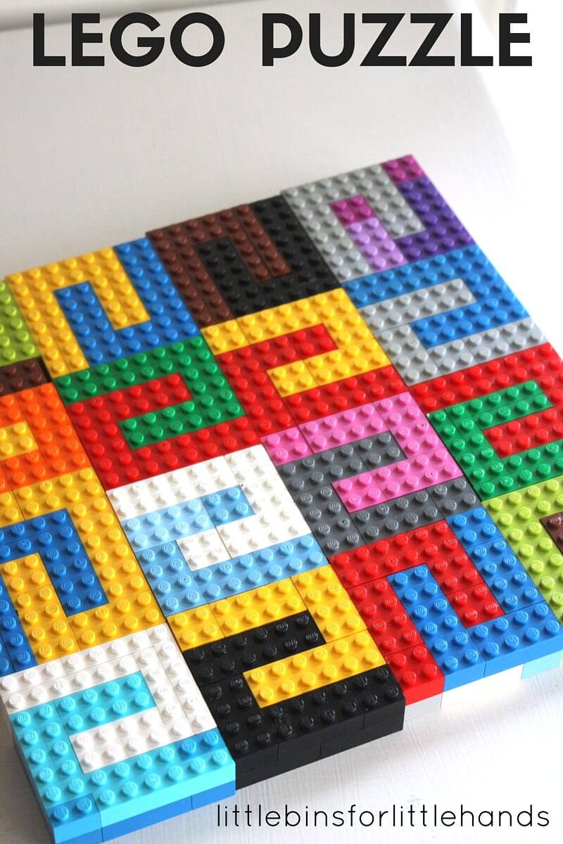 LEGO Tessellation STEAM Activity