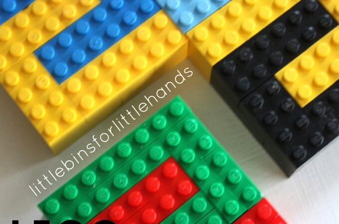 LEGO Tessellation Activity for Kids STEAM