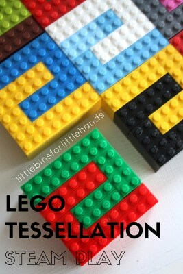 LEGO Tessellation STEAM Math Tiling Puzzle Activity