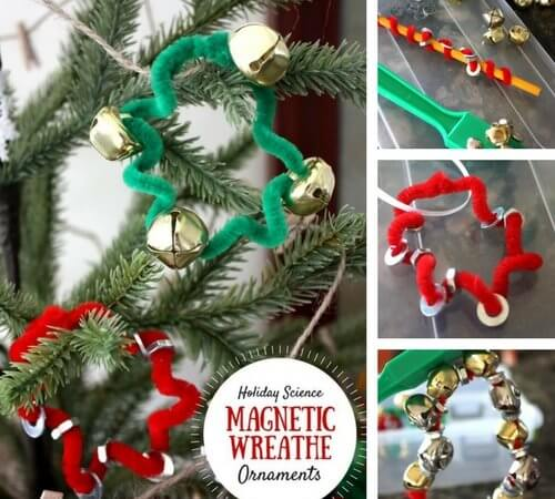Magnetic Ornaments Christmas Science Craft