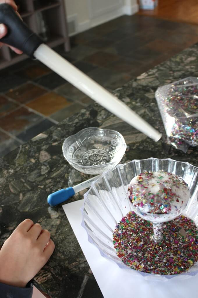 New Years Confetti Science Activity