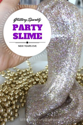 Party Slime New Years Eve Celbration Activity for Kids