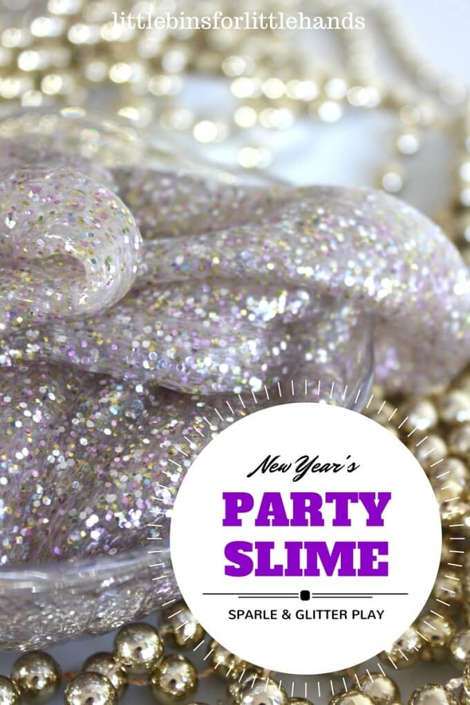 Party slime New Years Eve Activity