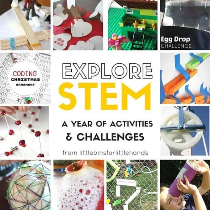 Quick Stem Challenge For Kids: Best Structure Building Activities For Kids
