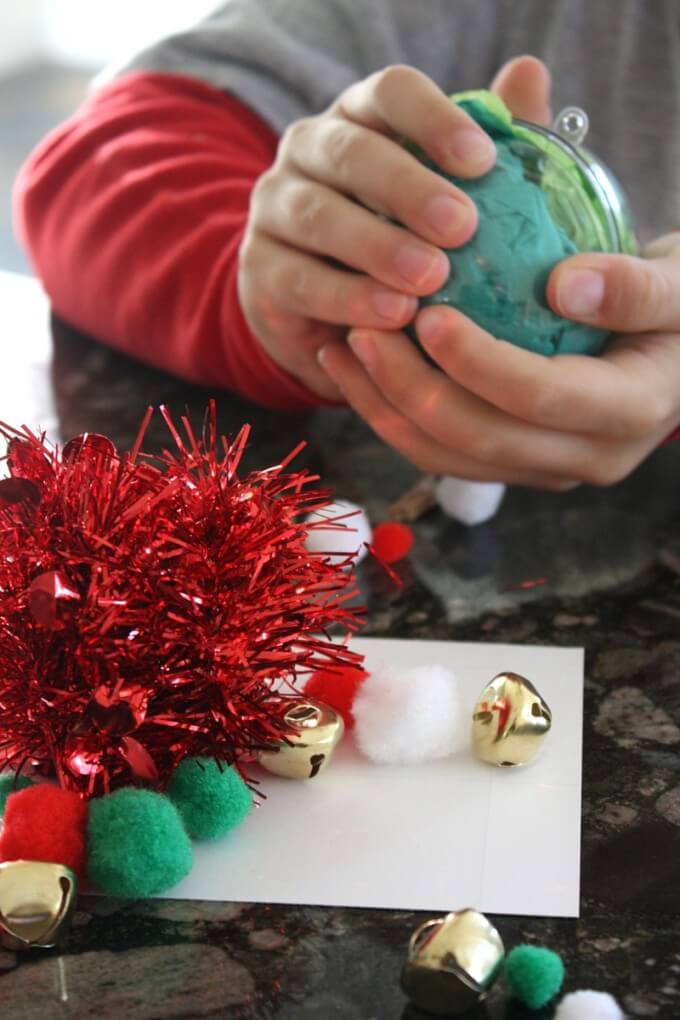 Testing Jingle Bell STEM Christmas Science