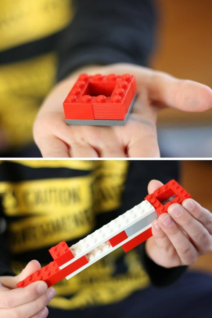 Building an easy LEGO catapult
