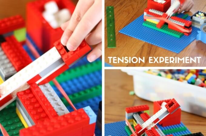 Easy LEGO Catapult and Physics Activity for Kids