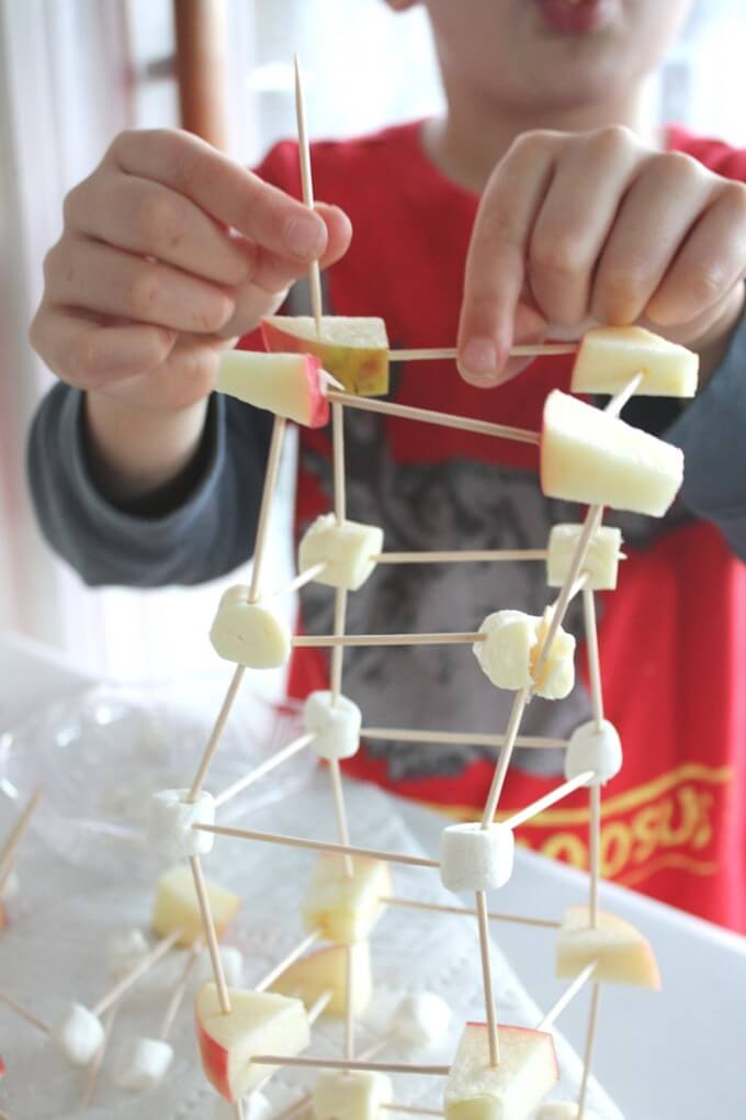 Edible Structures STEM Engineering Activity Snack Time Fun-3