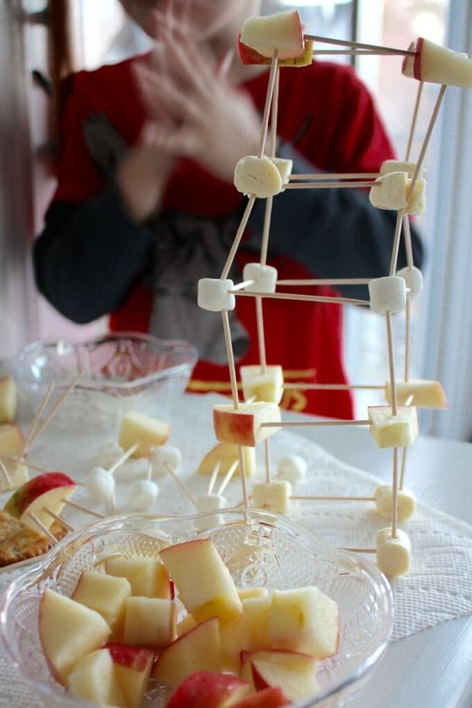 Edible Structures STEM Engineering Activity Snack Time Fun-4