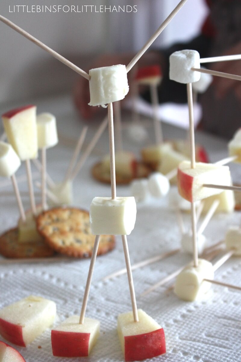 Edible Structures Snack Time Engineering And Stem