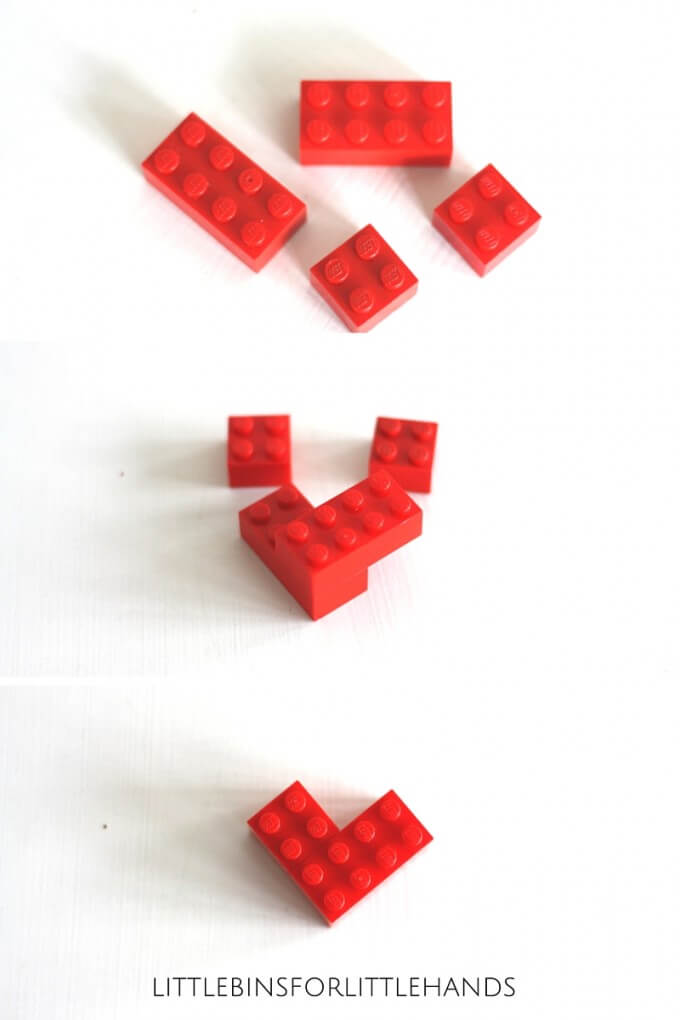 Mini LEGO Hearts