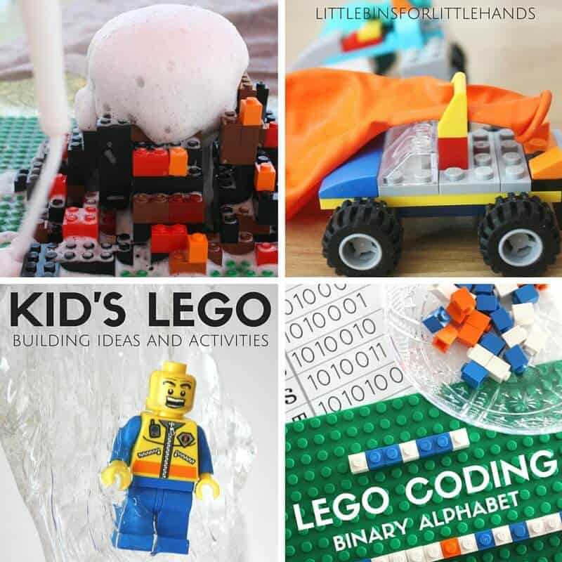 Kids LEGO Activities And Building Ideas STEM Challenges