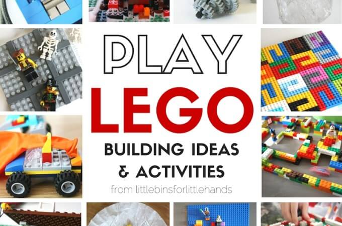 LEGO Activities and STEAM Challenges for Kids