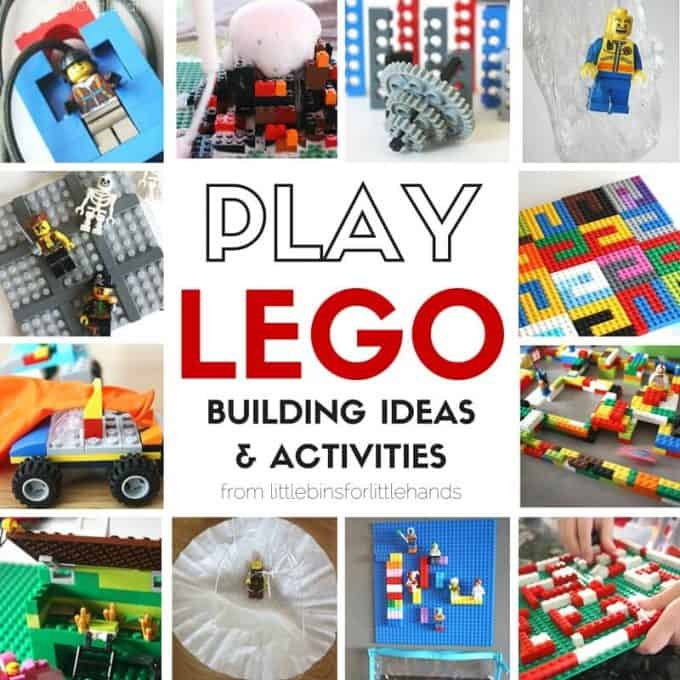 LEGO Activities and Play Ideas STEAM challenges
