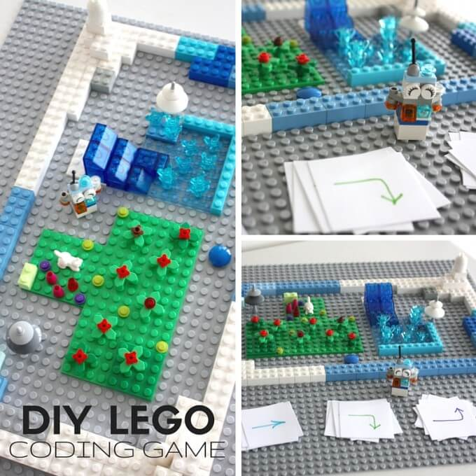 LEGO Computer Coding for Kids DIY Game with Bit the Bot