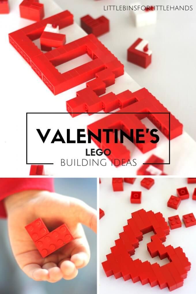 LEGO Valentines Day Building Ideas STEM Activities