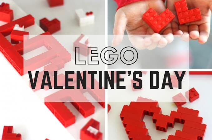 LEGO Valentines Day Building Ideas for Kids