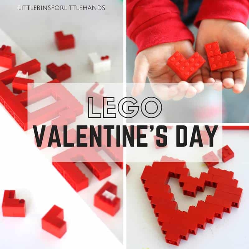 Have A Happy LEGO Valentines Day!