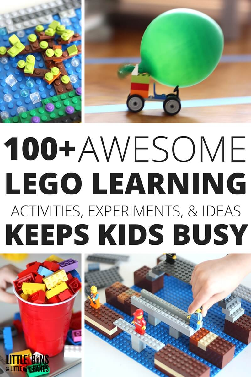 The best kids LEGO activities ever! Plus LEGO learning Activities and ideas for Learning with LEGO book