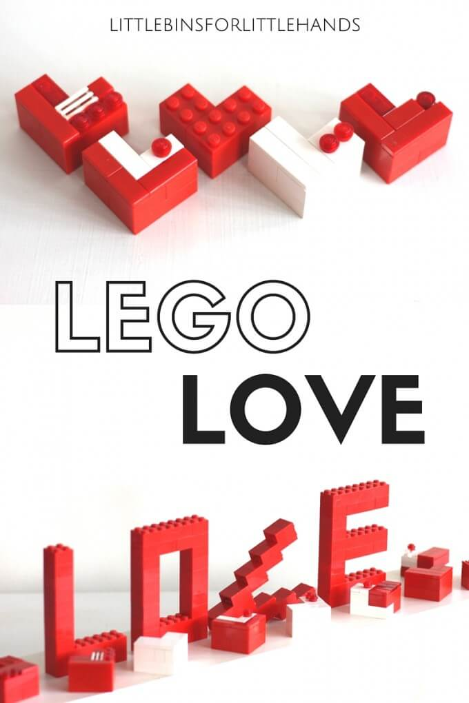 LEGO love letters