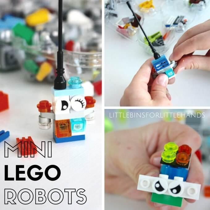 Mini LEGO Robots STEAM