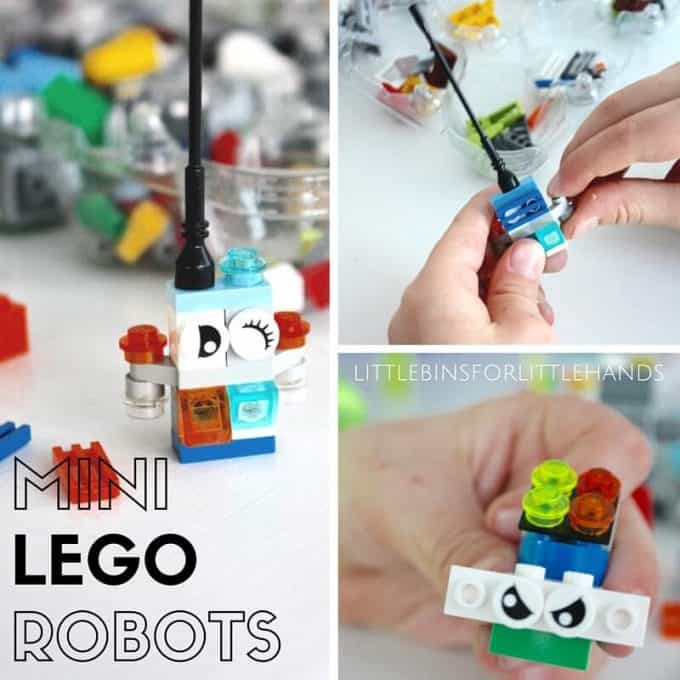 Mini LEGO Robots STEAM