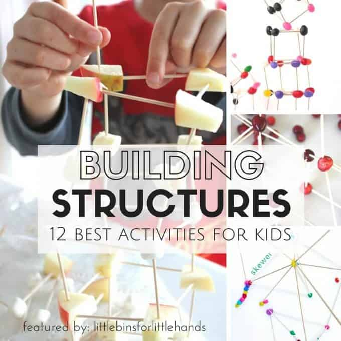 Structure Building Activities and Engineering Challenges for Kids-2
