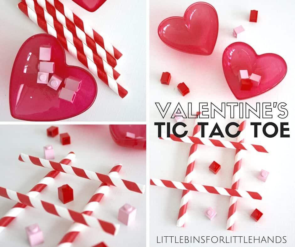 Valentines tic tac toe diy game for kids make it yourself a diy valentines tic tac toe game solutioingenieria Images