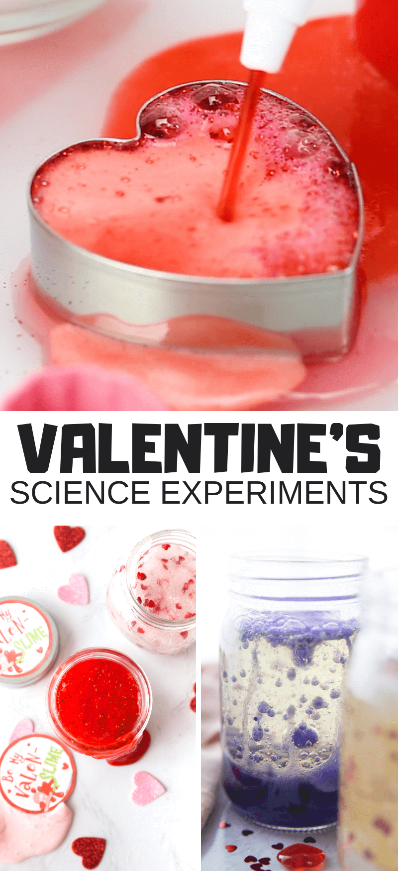 Valentines Day Science Activities and Experiments for Kids
