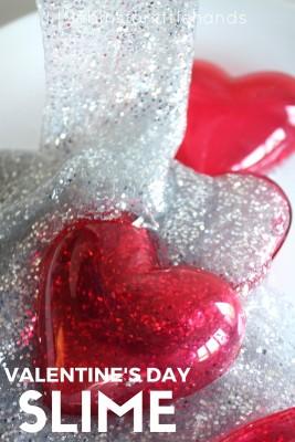 Valentines Day Slime Activity STEM for Kids
