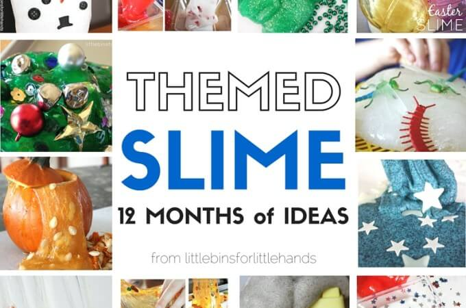 A Year of Our Themed Best Slime Activities for Kids