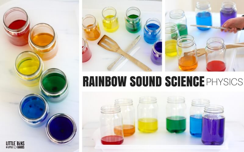 St Patricks Day STEM Activity and Sound Science for Physics with Kids