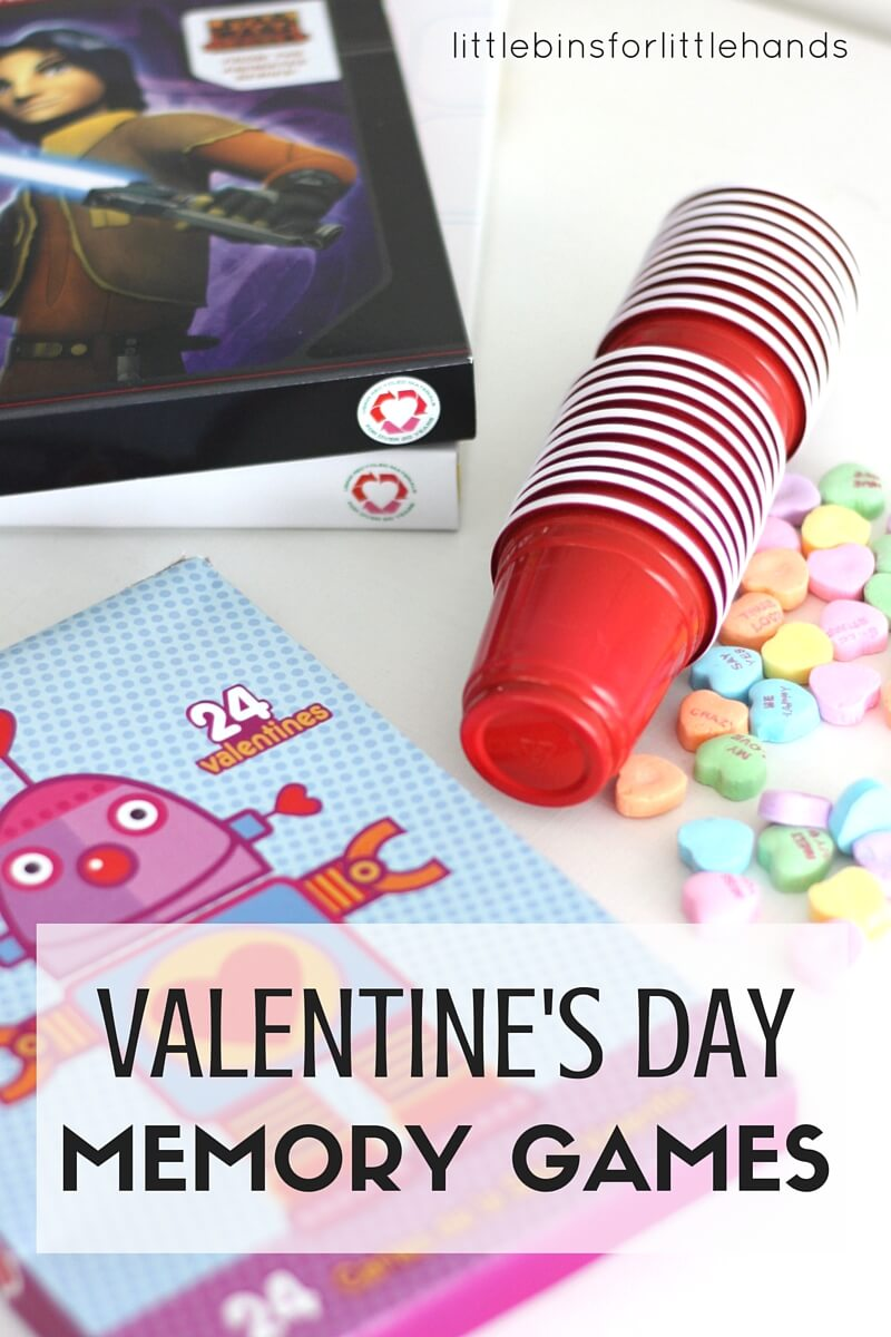 Valentines Day Memory Games And Matching Activities