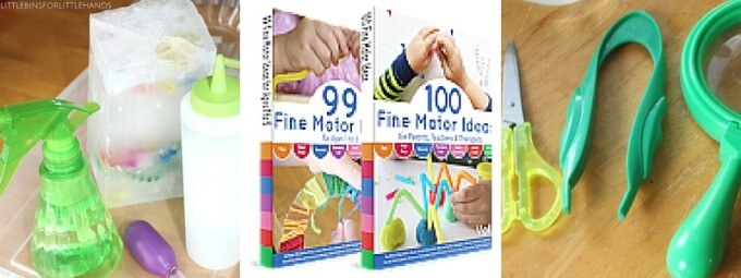 100 fine motor ideas book