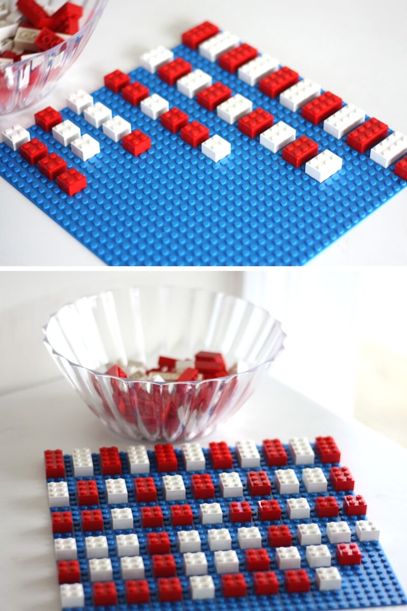 LEGO Math Activity and Dr Seuss Patterning Activity