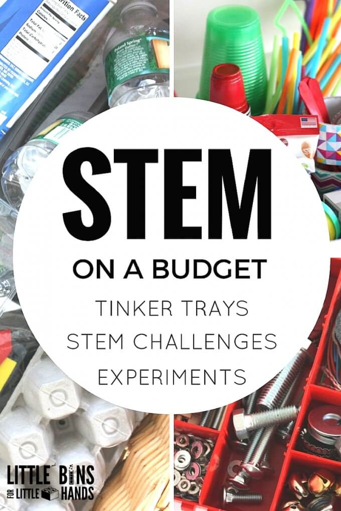 Budget STEM or Inexpensive STEM Activities and Supplies for Kids