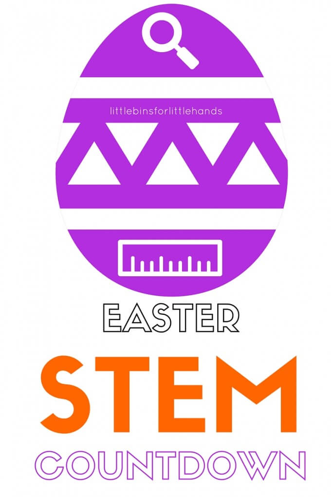 Easter STEM Activities Countdown Calendar Ideas Spring Science