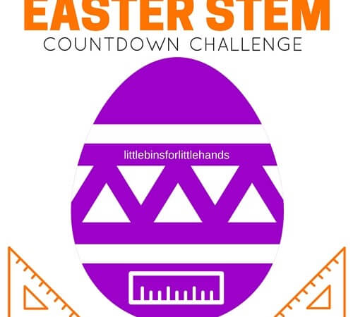 Easter STEM Activities Countdown Challenge Ideas (Free Printables)