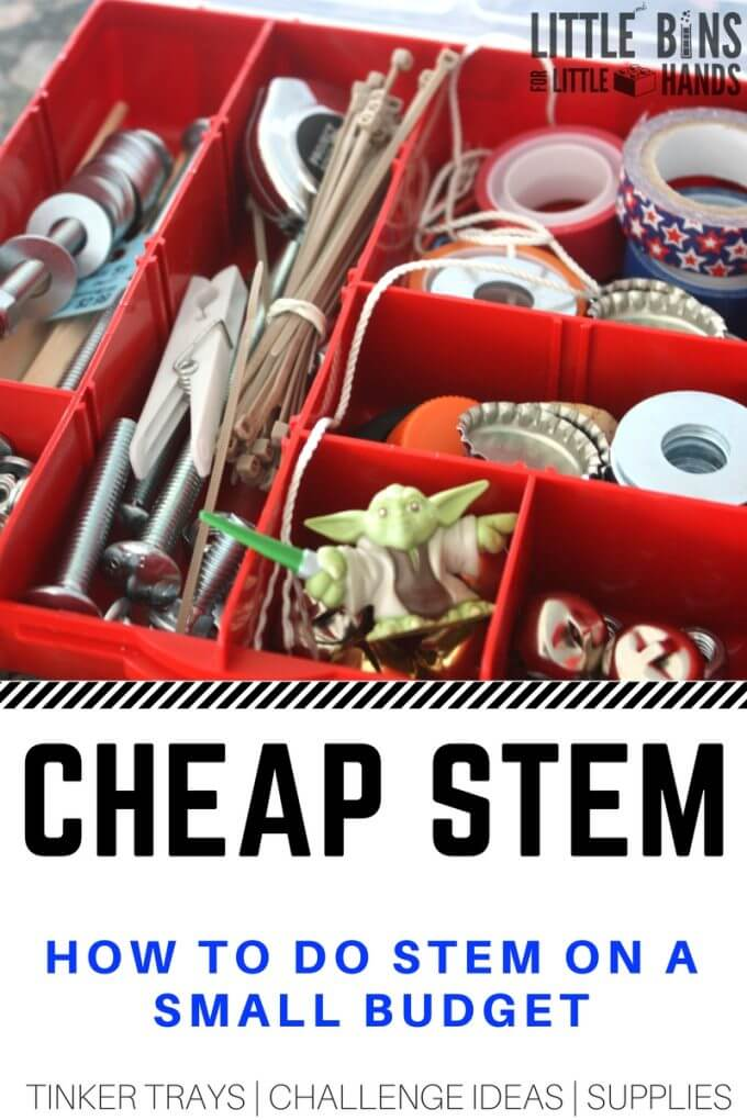 Inexpensive STEM and Cheap STEM Activities and Supplies