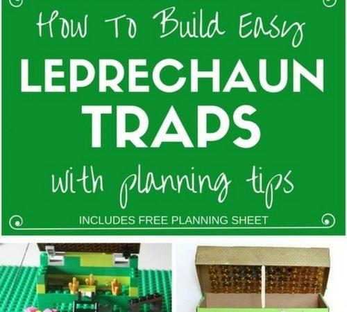 Easy Kids Leprechaun Trap Ideas for St Patricks Day STEM Activity