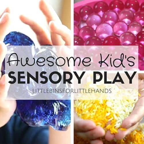 Kids Sensory Play Activities, Bins, Bottles, and Slimes